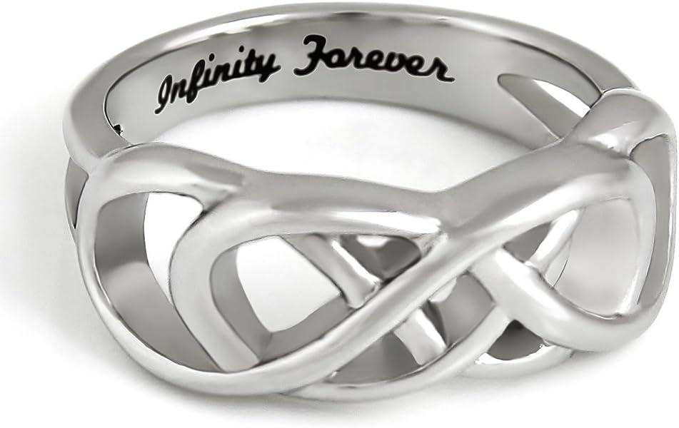 Amazon Double Infinity Symbol Ring Purity Ring Infinity