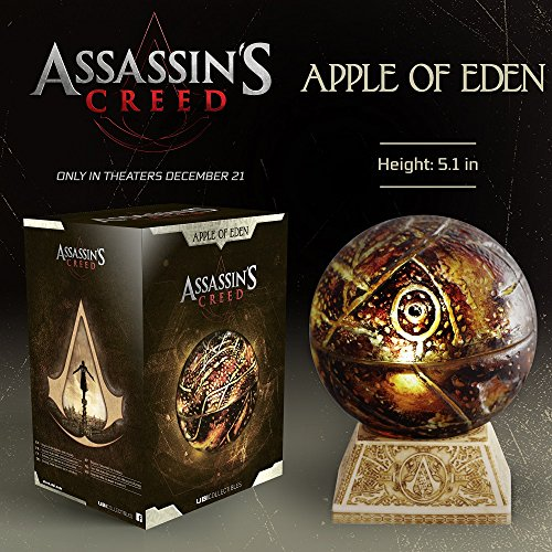 Ubisoft Assassin's Creed Movie Apple of Eden - And Figures Game Statues Video