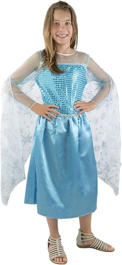P Tit Payaso re15364 – Disfraz Infantil Reina de los Helados Azul ...