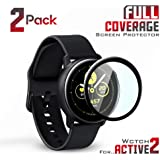 Glass Pro+ Tempered Glass for Samsung Galaxy Watch Active 2 40MM & Active 2 44MM (for Galaxy Watch Active 2 40MM, 2 Pack)