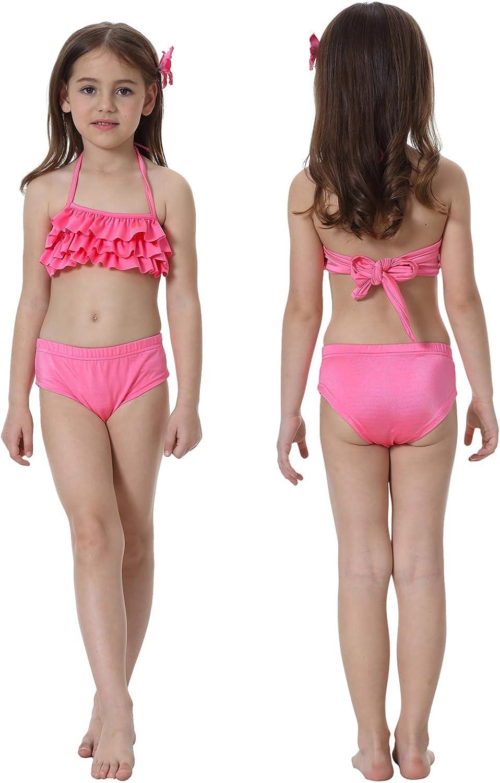 Cosplay per Bambina Ragazza GALLDEALS Costume da Bagno Coda di Sirena Bikini per Nuotare con Monopinna in Piscina