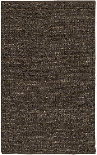 Surya Continental COT-1933 Natural Fiber Hand Woven 100 Natural Jute Wenge 9' x 13' Area Rug