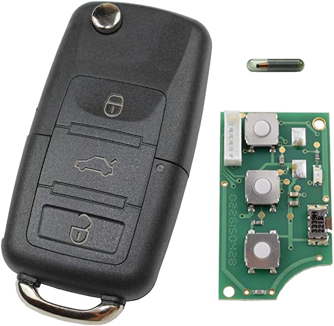 Schlüsselgehäuse Funk Fernbedienung Klappschlüssel Elektronik