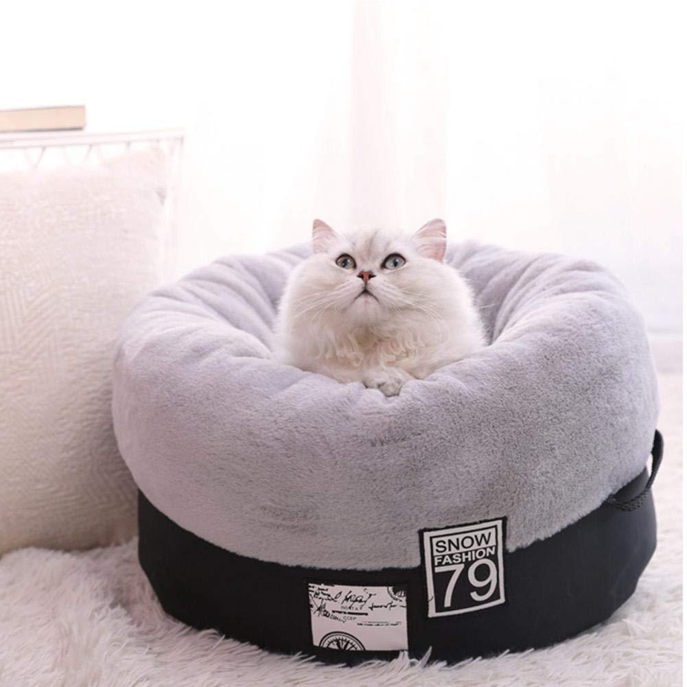 Miju de Mascotas Nido, Forma extraíble Cama para Perro, Gato Animales pequeña Talla Cama para Perro Suave y cálido para Animal doméstico Nido de compañía: ...