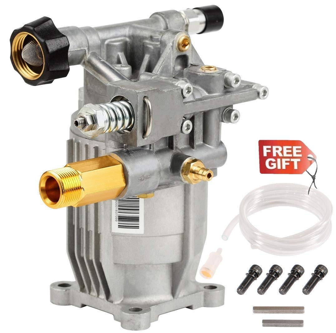 YAMATIC 2900 PSI Power Pressure Washer Pump 3/4'' Shaft Horizontal Pump Easy Start Fit Most Pressure Washer by YAMATIC