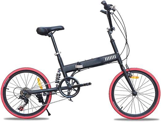 Kiyte Bicicleta De Montaña Ligera Y Plegable con Amortiguación ...