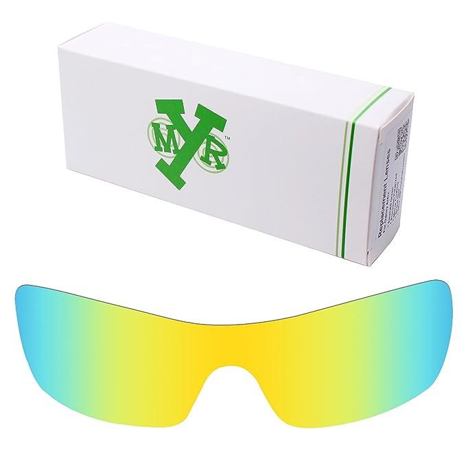 MRY - Gafas de sol - para hombre Multicolor 24K Gold