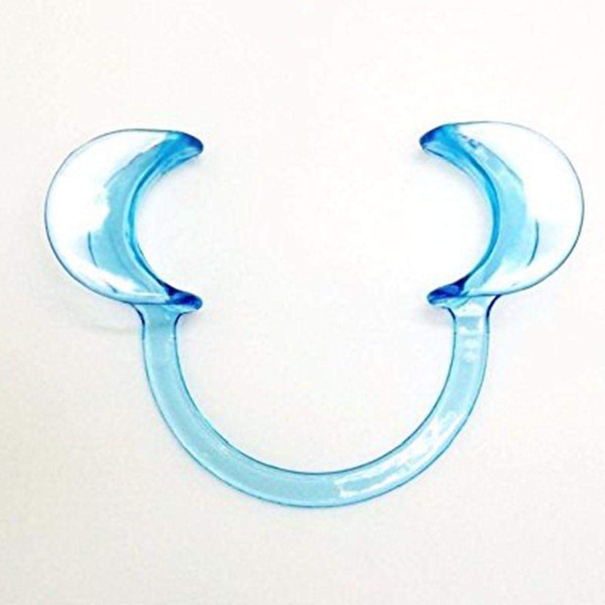 ULTNICE Dental C-forma Tipo Clear Cheek Retractor boca abridor de labios 20Pcs - L (azul): Amazon.es: Salud y cuidado personal