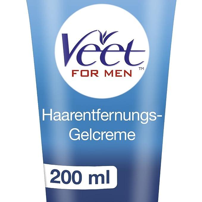 Veet for Men Crema Depilatoria para hombre - Piel normal 200ml: Amazon.es: Salud y cuidado personal