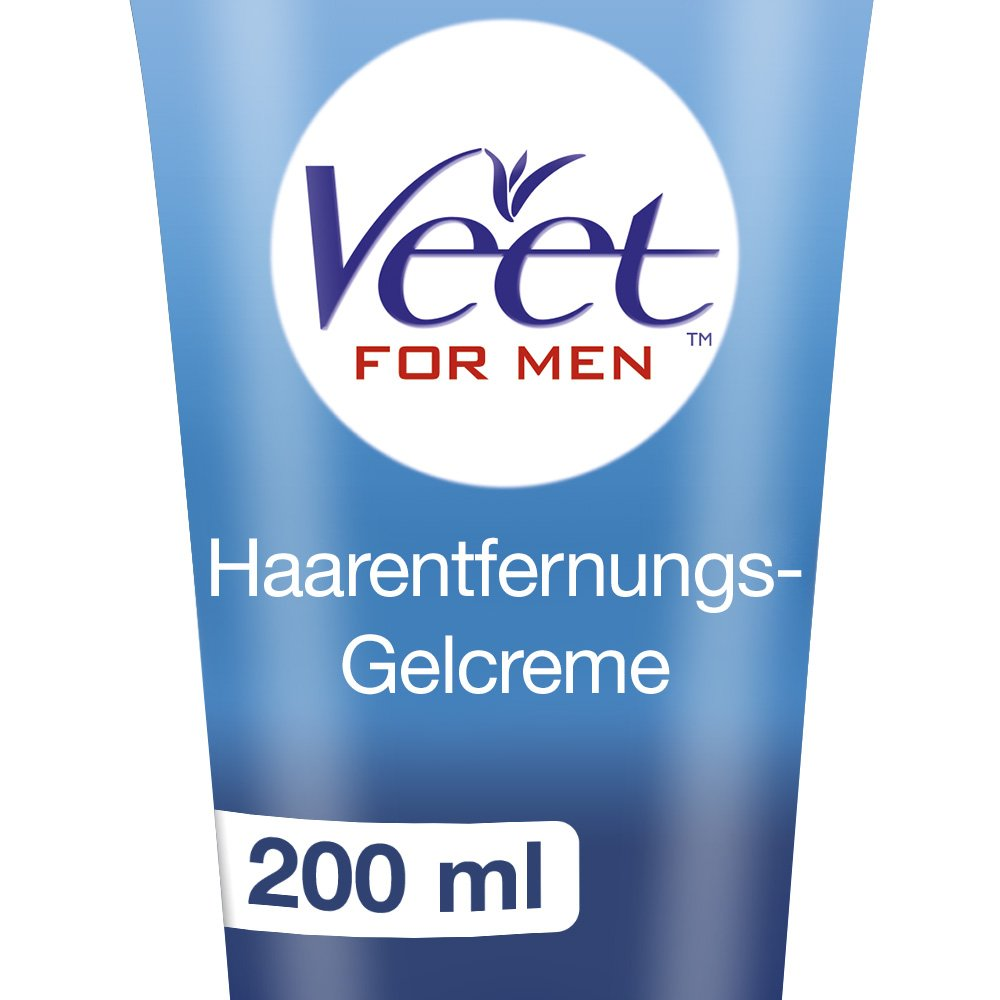 Veet for Men Hair Removal Gel Creme 200ml (1) by Veet (Image #1)