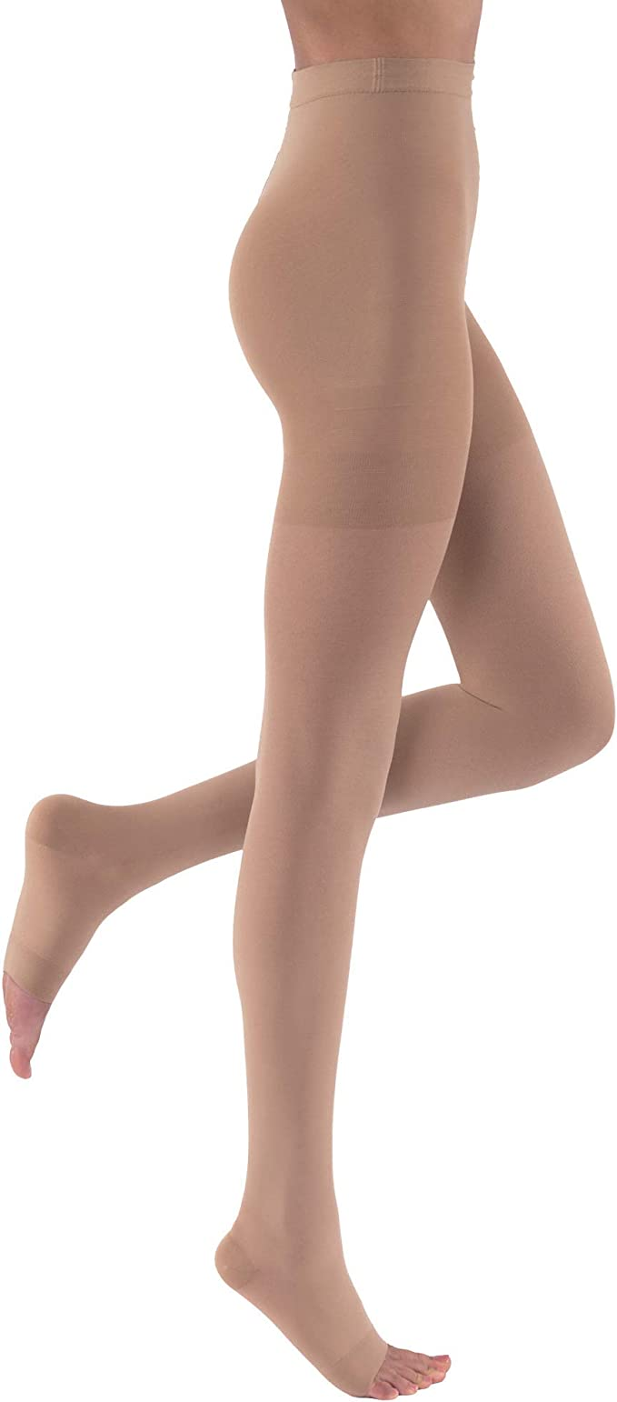 Leg Relief 20-30 mmHg Single Leg Open Toe Chap Size Left X-Large