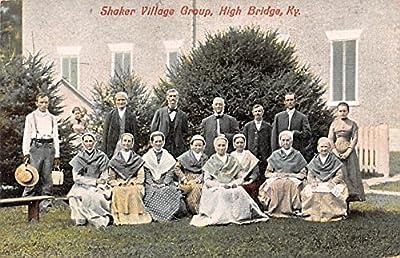 Village Group High Bridge, Kentucky USA Shaker Postcard