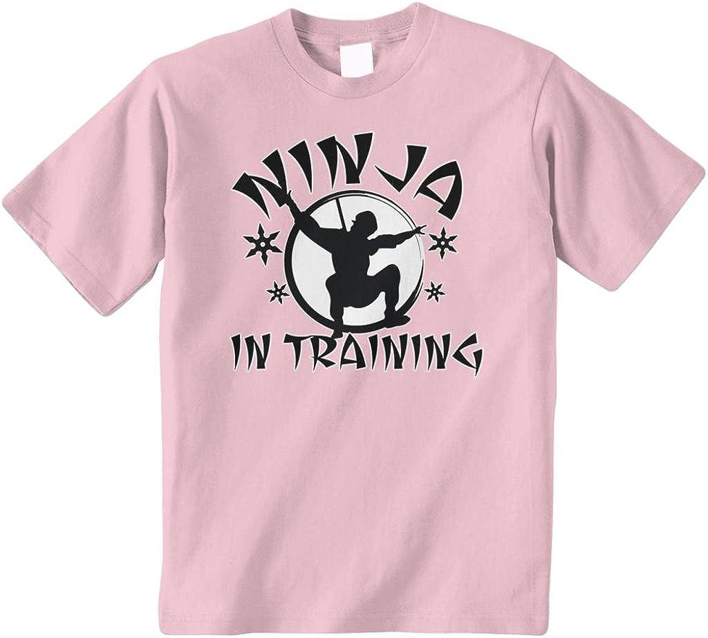 Threadrock Big Boys' Ninja in Training Youth T-Shirt