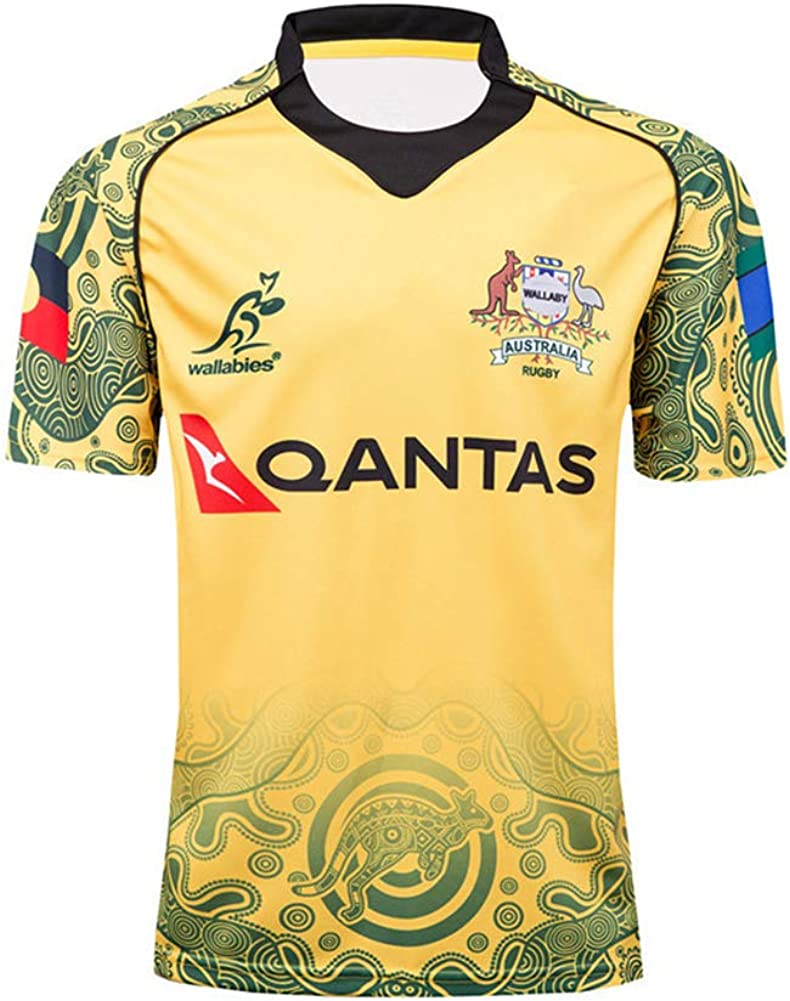 online shop 20 Australia Wallabies Rugby Jersey, World Cup ...