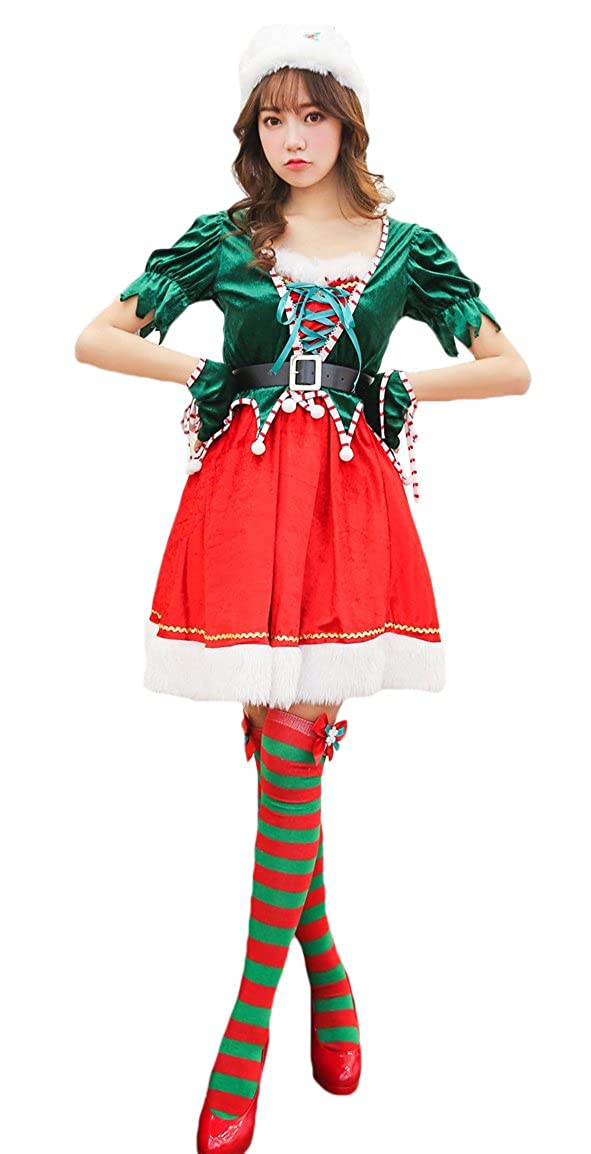 Christmas Party Dress Up Themes.Amazon Com Ezshe Women S Christmas Party Costume Themes