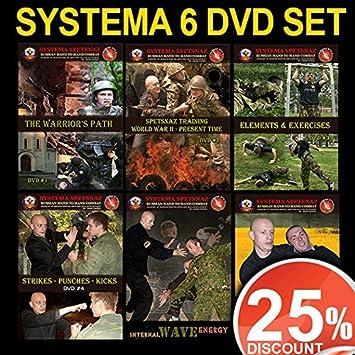 Art Martial Training 6 Systema Dvds Russian Dvd Set Of zwZFqn
