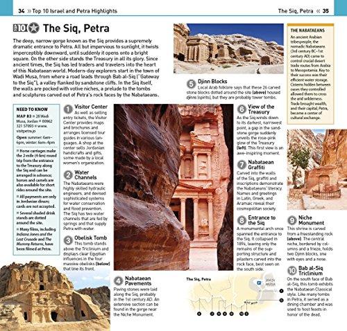 top 10 israel and petra dk eyewitness top 10 travel guides