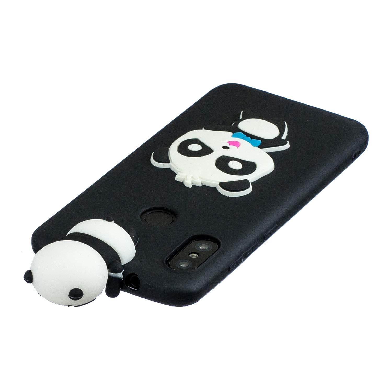 Funluna Funda Xiaomi Redmi 4X 3D Perro Mono Patr/ón Cover Ultra Delgado TPU Goma Cover Suave Flexible Carcasa Silicona Gel Anti-Rasgu/ño Protectora Espalda Caso Bumper Case para Xiaomi Redmi 4X
