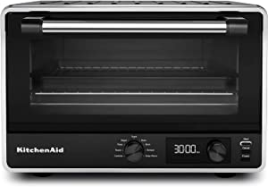 KitchenAid KCO211BM Digital Countertop Toaster Oven, Black Matte (RENEWED) CERTIFIED REFURBISHED