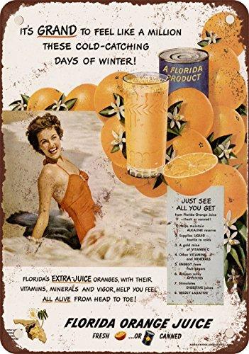 7-x-10-metal-sign-1950-florida-orange-juice-vintage-look-reproduction