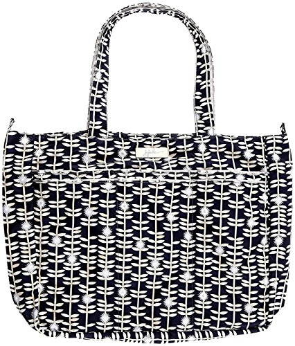 Ju-Ju-Be Classic Collection Super Be Zippered Tote Diaper Bag, Dandy Lines