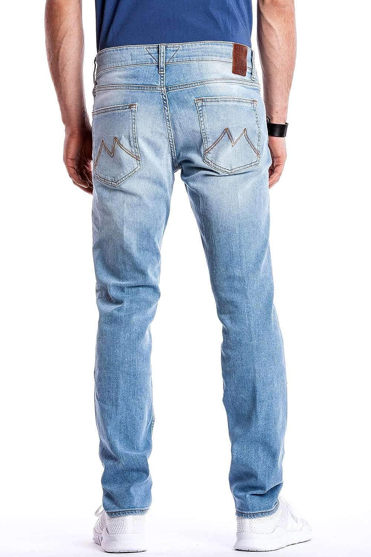 Jeans Maner per Uomo MeltinPot Vita Regular vestibilit/à Slim