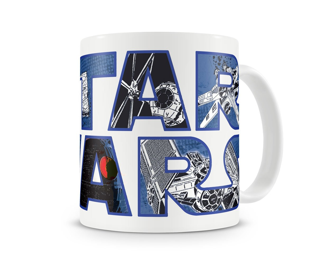 Officially Licensed Star Wars Logo Coffee Mug