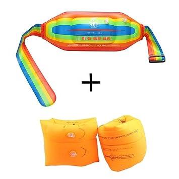 mofek inflable nadar flotación cintura cinturón y brazo bandas mangas flotadores de natación anillos Tubo armlets