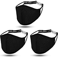 Workout Sport Face Mask Breathable Exercise Athletic Beards Men and Women Adult for Glasses Wearers Youth