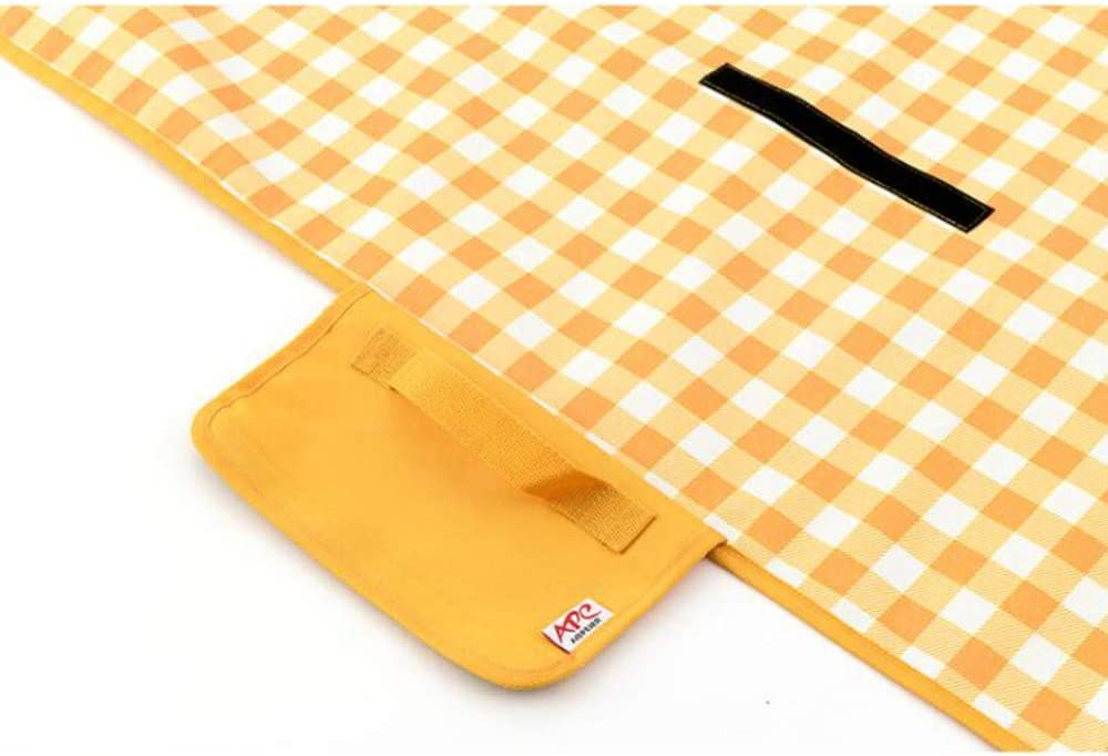 Waterproof Picnic Mat Beach Blanket 5 Colors,Sand Proof Mat For Travel Hiking SportsCamping Equipment Foldable C