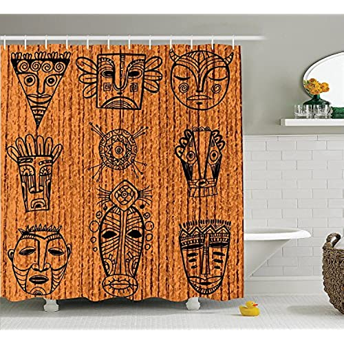 African Print Curtains Amazon Com