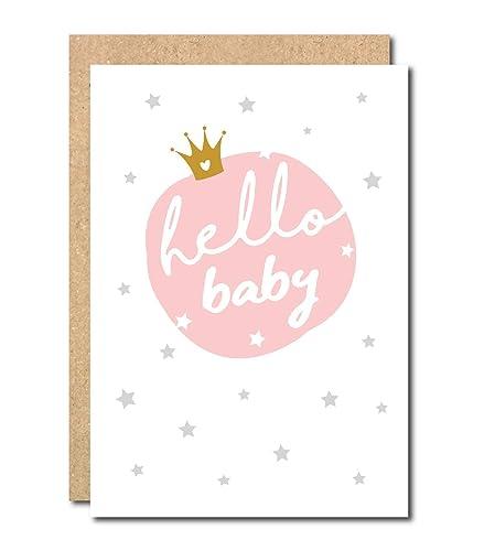 Baby girl card newborn baby congratulation greeting card its girl baby girl card newborn baby congratulation greeting card its girl baby shower new mum to be m4hsunfo