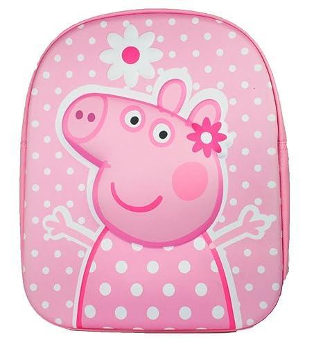 Peppa Pig Backpack Mochila Infantil, 32 cm, 8300 Liters, Rosa (Pink)