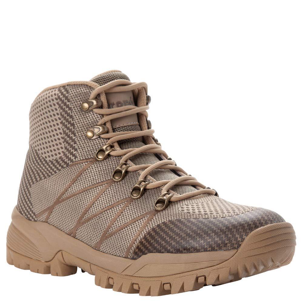 Propét Men's Traverse Hiking Boot, Sand/Brown, 14 XX-Wide US by Propét