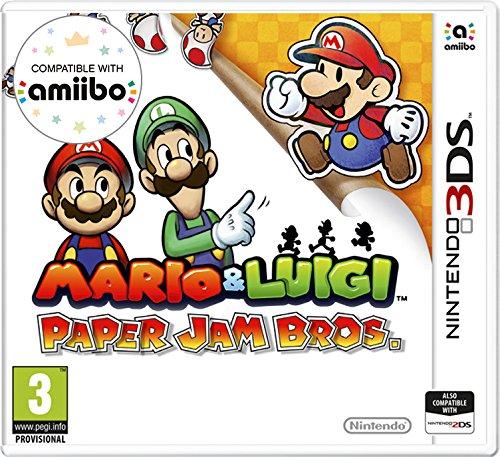 Amazon Com Mario Luigi Paper Jam Nintendo 3ds Video Games