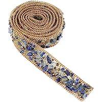 Crystal Beaded Ribbon Rhinestone Diamond Ribbon Roll Iron