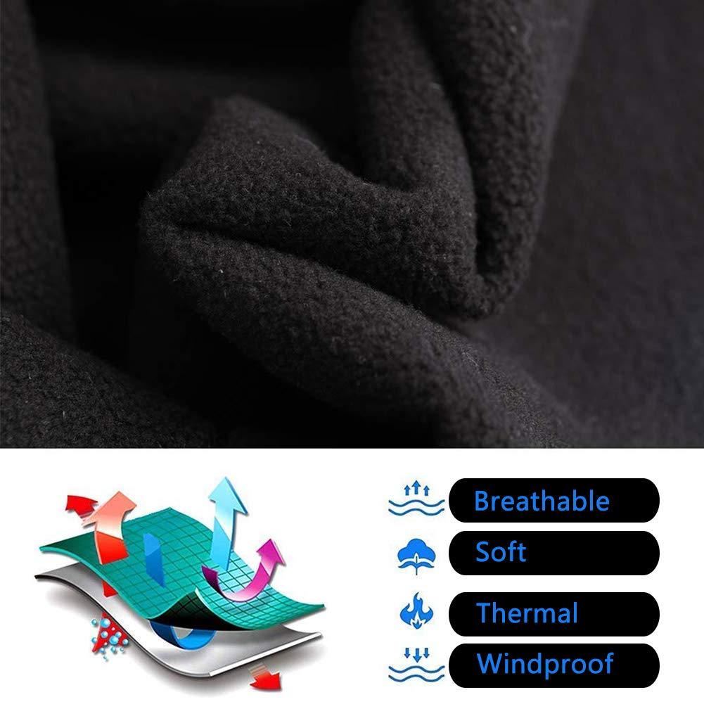M/áscara Para Esqu/í Bicicleta,BETOY 2 Piezas Fr/ío de Invierno Calentador M/áscara Invierno Protecci/ón Caliente M/áscara Anti-Fr/ío de Invierno Calentador M/áscara Para Esqu/í Bicicleta Azul,Negro