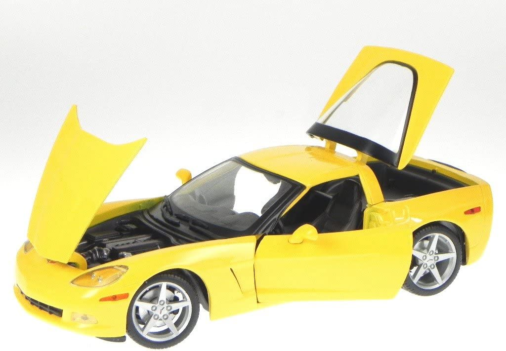 Chevrolet Corvette Coupe C6 Maisto 2005, 1:18, Metallic Blue