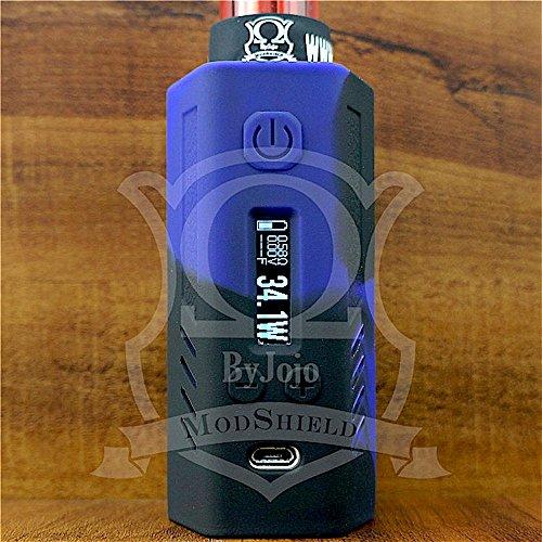 ModShield for Lost Vape Triade DNA200 & DNA250 Silicone Case 200W & 250W TC Sleeve Skin DNA Shield ByJojo (Purple/Black) (Best Dna 200 Mod)