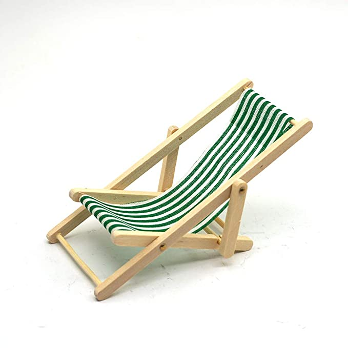 Amazon.com: Rc - Silla de playa plegable en miniatura de ...