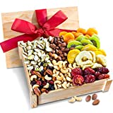 nut and dried fruit - Golden State Fruit Healthy Abundance Dried Fruit & Nuts Gift Crate