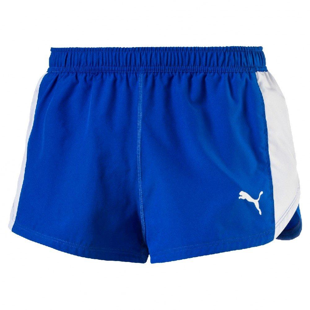 Puma Cross The Line Split Short Hose Black XS PUMAE|#PUMA 515101 01