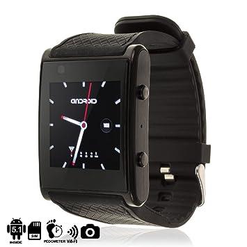 TEKKIWEAR. DMX028BLACK. Smartwatch Phone X11 con Sistema Operativo ...