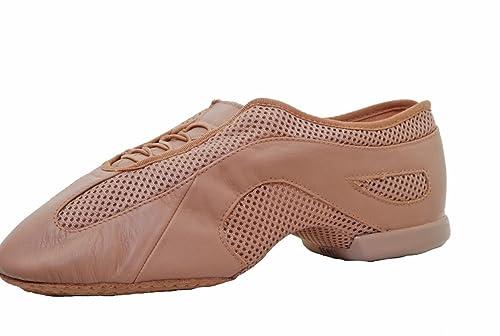 Bloch SO485 Slipstream, suola antiscivolo sulla ripartizione Jazz scarpe, colore: marrone chiaro, Marrone (Tenné), 42.5 EU