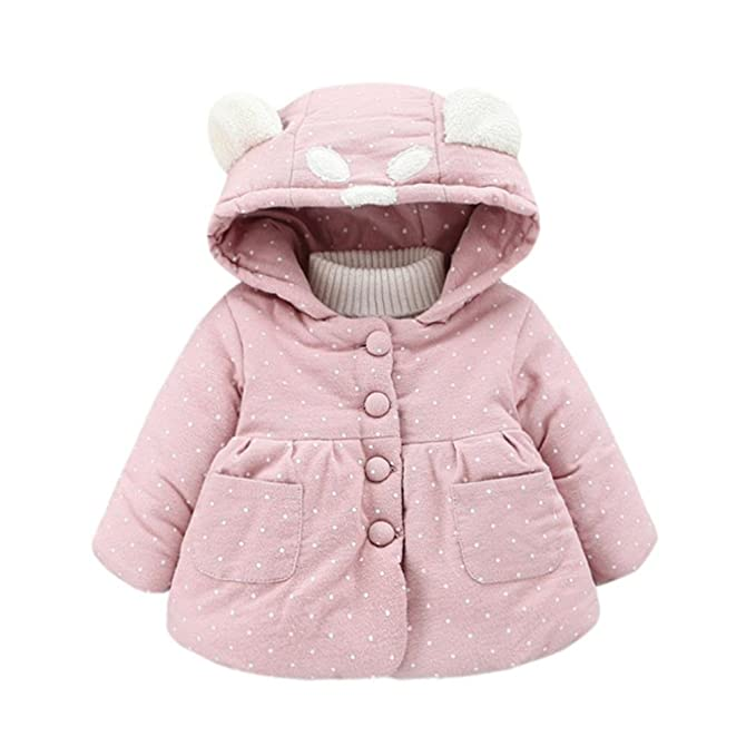 Amlaiworld Abrigo bebé niña Otoño Invierno Chaqueta Ropa de Abrigo 3 Mes - 2 Años: Amazon.es: Ropa y accesorios
