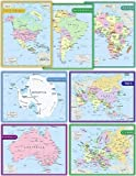 Teacher Created Resources Continents Set (9899)