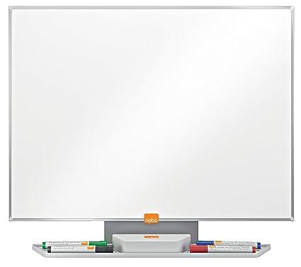 Nobo Prestige Pizarra magnética acero vitrificado, 600x450mm, Blanco, 1905219