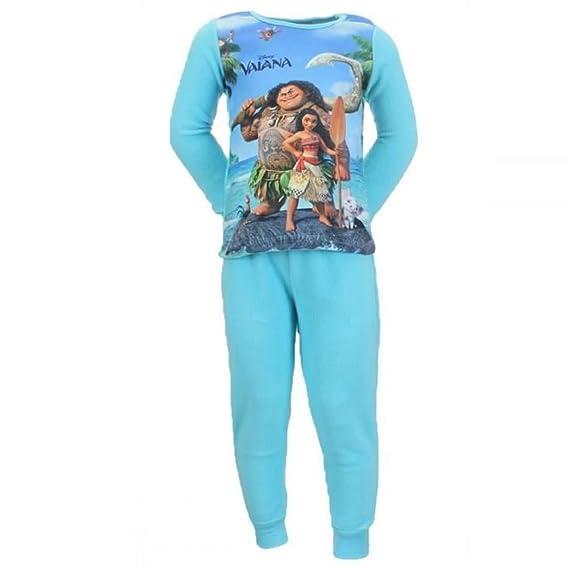 3a1247741f141 Pyjama polaire VAIANA DISNEY ensemble 2 pièces VAIANA bleu/vert émeraude 2  à 8 ans