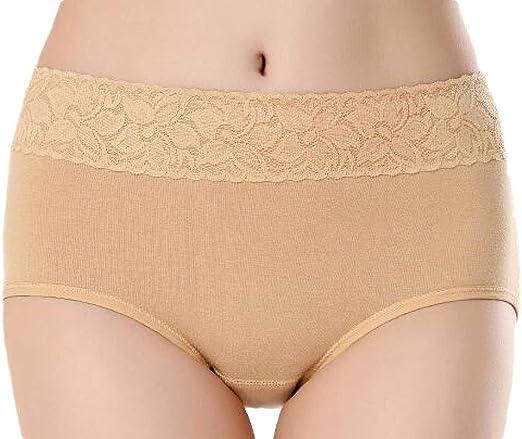 H&E Pack de 3 Bragas algodón cómodas, para Mujer: Amazon.es: Ropa ...