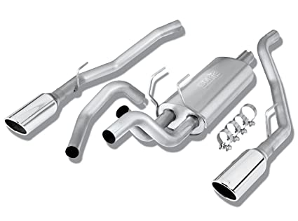 Amazon Com Borla 140307 Stainless Steel Cat Back Exhaust System